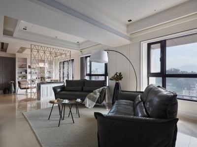 越看你家客厅越觉得不顺眼 沙发尺寸没选好啊